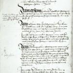 Dokument über Armbrustschiessen