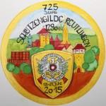 725 Jahre Schützengilde Reutlingen - Festscheibe