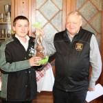 2016 Osterschiessen Gewinner Jugend: Dennis Ott