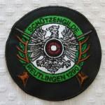 Wappen gestickt