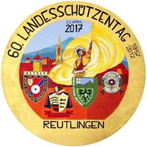 2017 - 60. Landesschützentag - Festscheibe